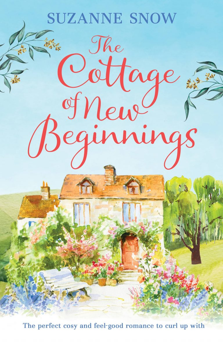 romantic books, romantic fiction, the cottage of new beginnings, cover, suzanne snow