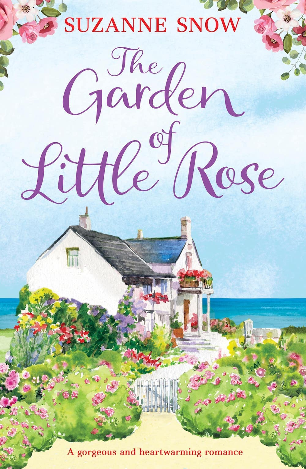 romantic books, romantic fiction, The Garden of Little Rose, suzanne snow