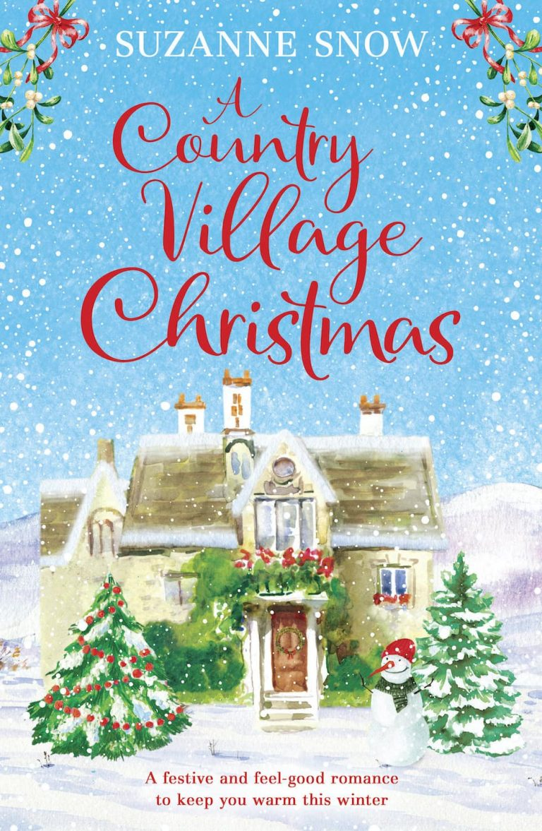 A Country Village Christmas Cover, suzanne snow